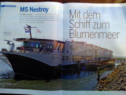 ReiseLust: Mit dem Schiff zum Blumenmeer