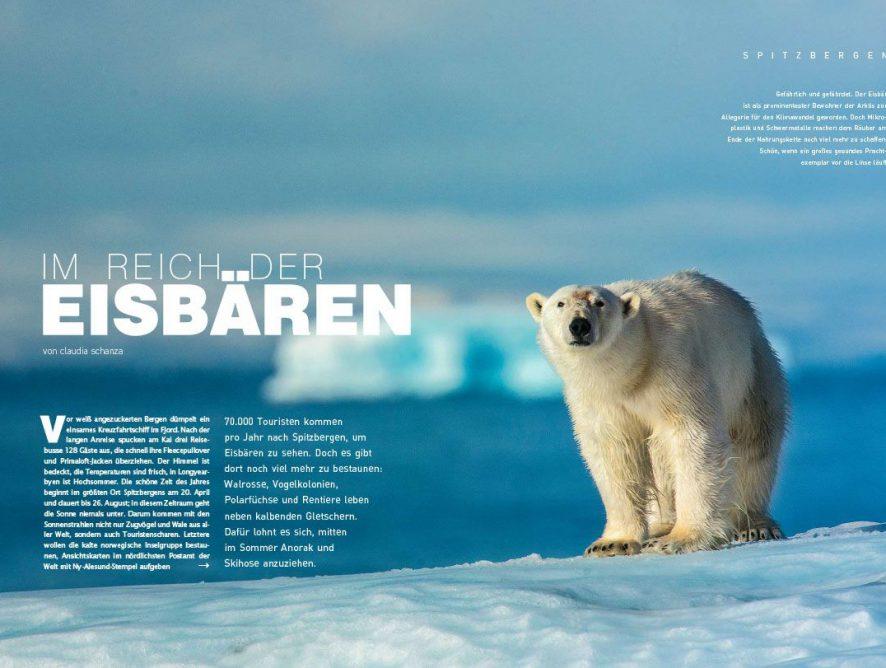 KURIER Freizeit: Reportage über eine Kreuzfahrt in die Arktis
