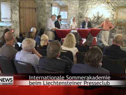 Interview nach der Podiumsdiskussion