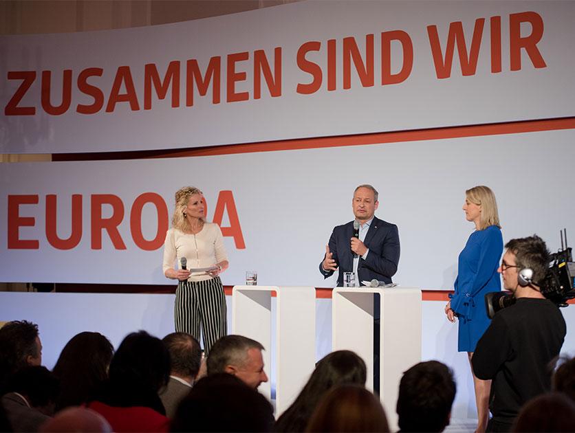 EU-Wahlkampfauftakt © Manuel Domnanovich