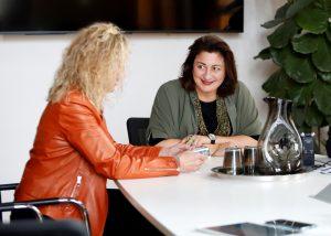 Interviewtermin mit Amtsführender Stadträtin Veronica Kaup-Hasler.
