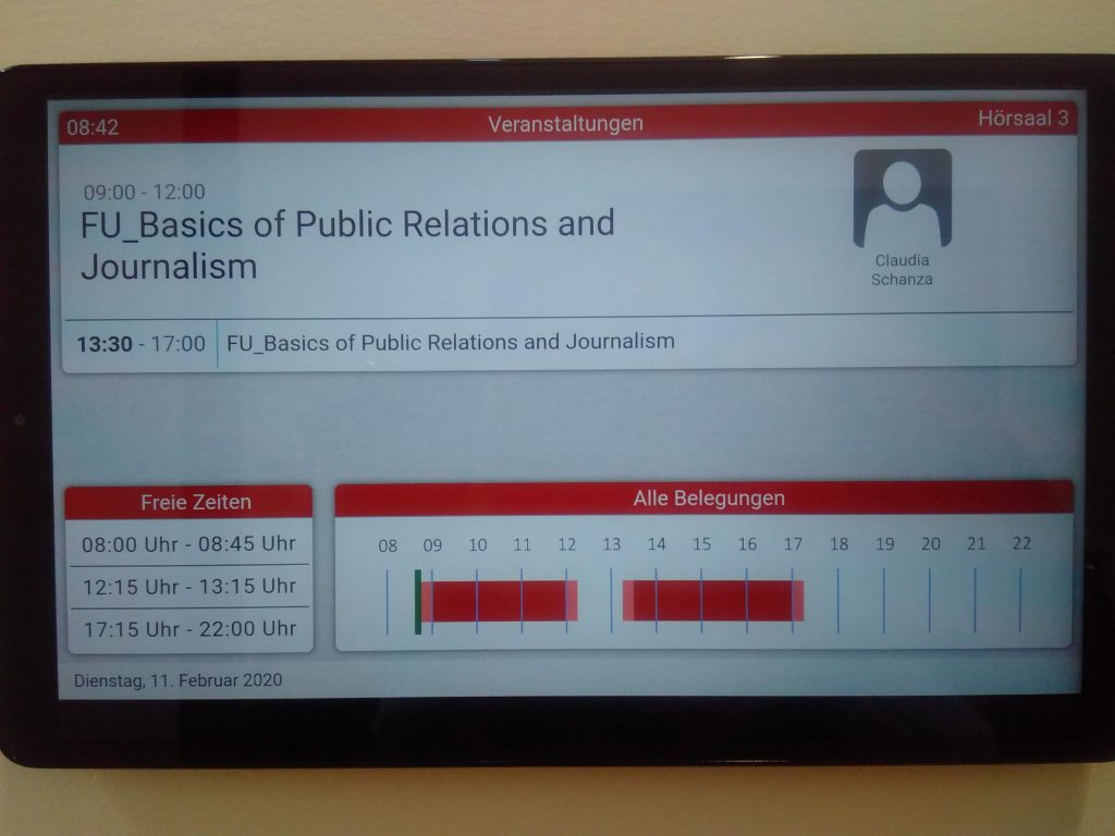 Basics Journalismus and PR