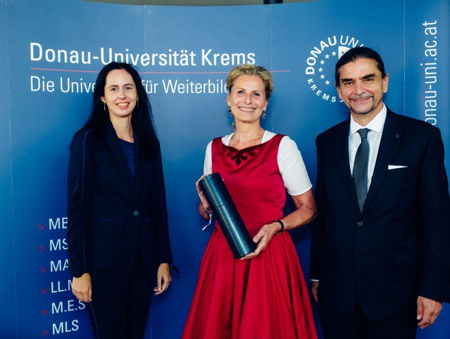 Graduierung an der Donau Uni Krems