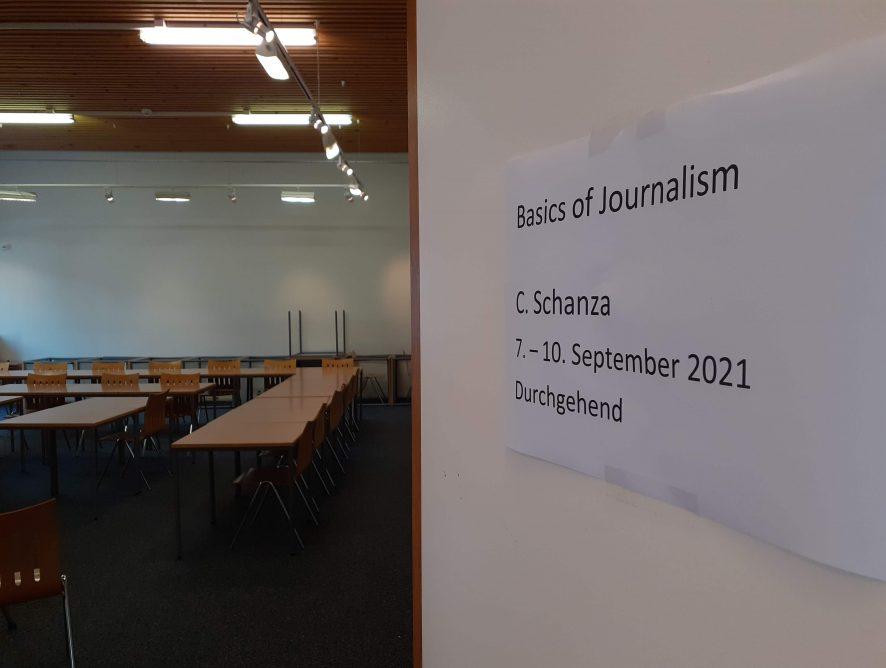 Basics of Journalism and PR